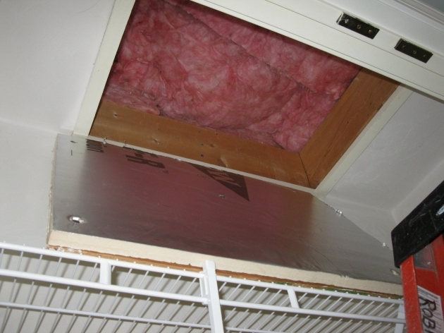 Attic Door Insulation Stair Photos 82