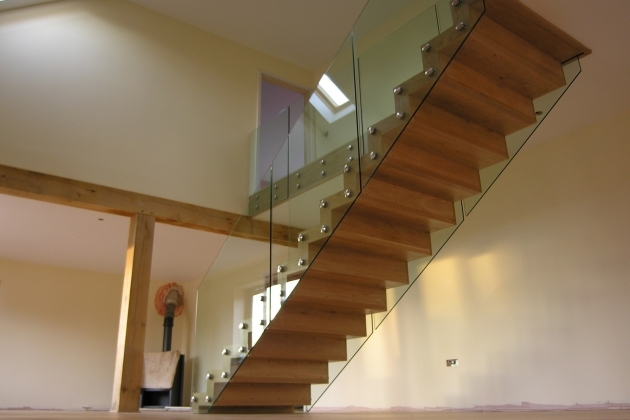 Floating Stair Treads Beautiful Small Space Design Ideas With Glass Barriers And Balusters Pictures 30