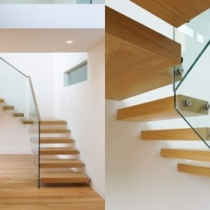 Floating Stair Treads