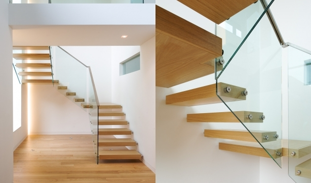 Floating Stair Treads Contemporary Bespoke Picture 83