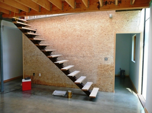 Floating Stair Treads Plans  Picture 09