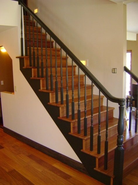 Hardwood Stairs Treads Replacement Wood Stair Treads Idea Images 97