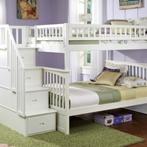 Loft Bed with Stairs for Kids