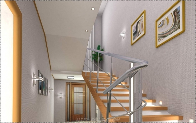 Modern Stair Railings Interior Wooden Stairs And Steel Railing Design Picture 50