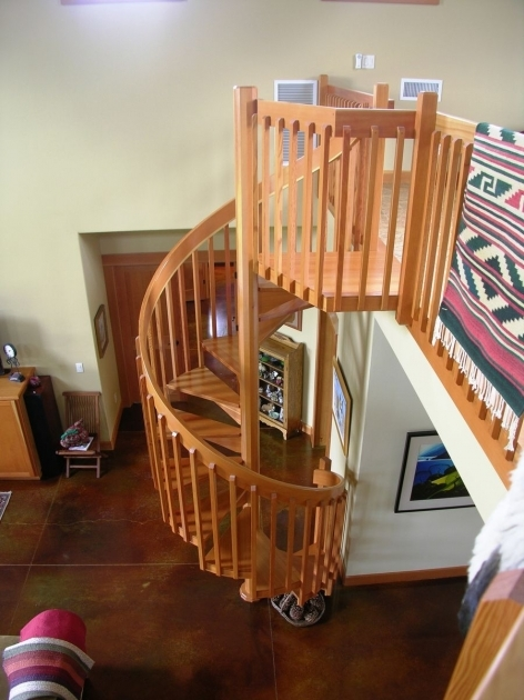 Oak Spiral Staircase Alex Zukowski Master Woodworks Inc Salem Photo 54