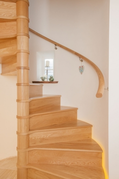 Oak Spiral Staircase Ideas Timber Pic 63