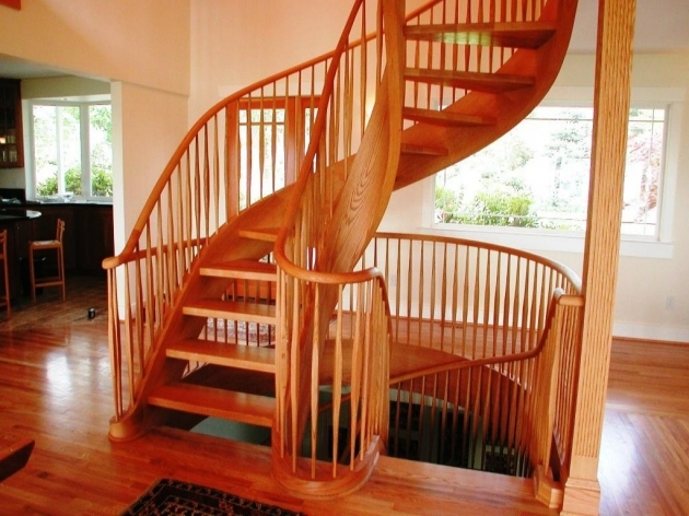 Oak Spiral Staircase Tread Ends Stair Models Image 64