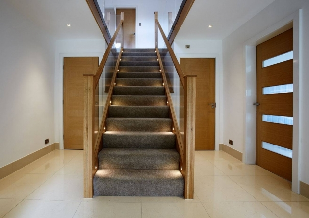 Oak Staircase Ideas Contemporary Bespoke Oak Staircase Pic 92