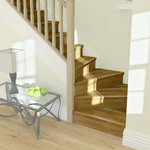 Oak Staircase Ideas Tread Winder Oak Pic 39