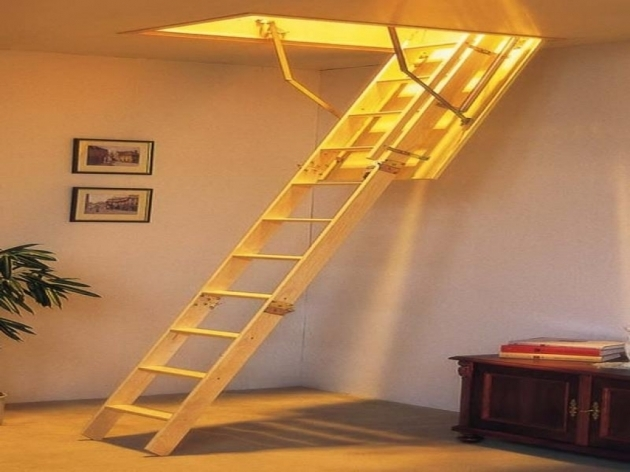 Pull Down Attic Stairs Design Offering Practical Use Photos 46