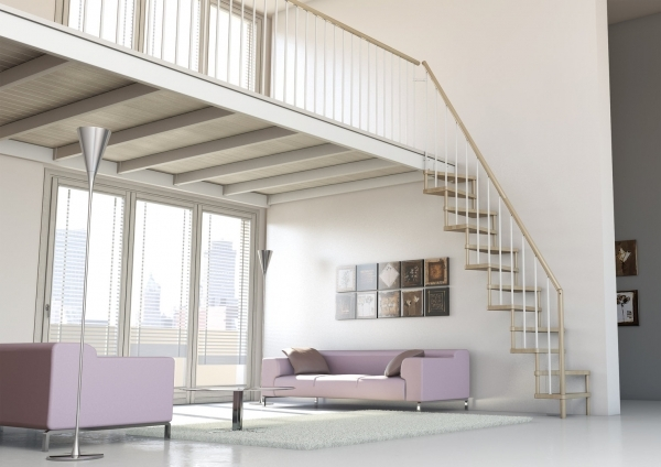 Space Saving Stairs Type Torino Staircase Photo 74