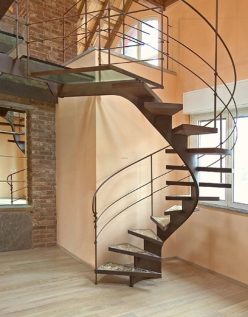 Spiral Staircase Dimensions Interior Creative Decorating Image 93