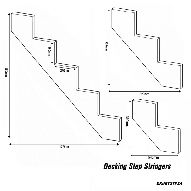 Stair Stringer Dimensions Decking Step Stringers Stair Makers Image 42