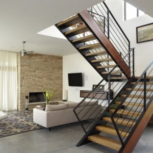 Staircases Designs with Railing