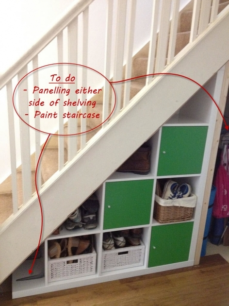 Under Stairs Storage Ideas Ikea Images 34