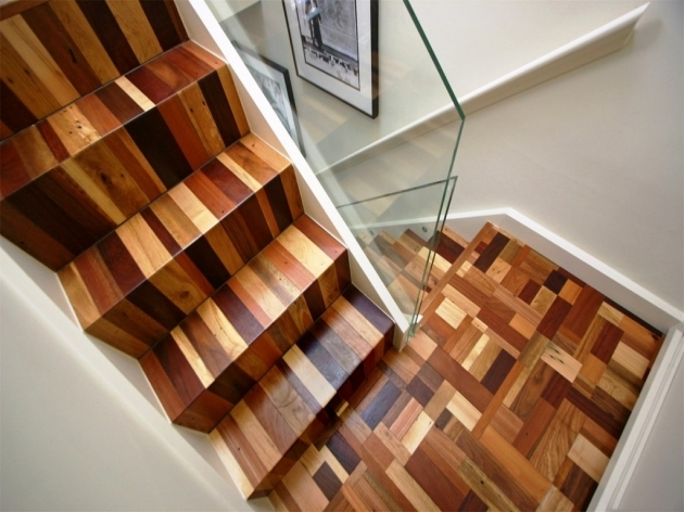 Wood Stair Treads Installing With Beautiful Design Pic 83
