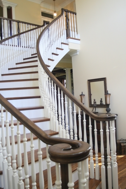 Stair Handrail Ideas Living Room Furniture Interior Spiral Staircase Kits Photo 54