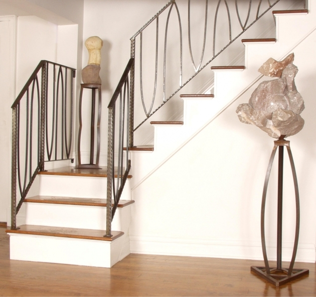 Basement Stairs Railing Antique Decor Stair Railing Ideas Extraordinary Stair Railing Ideas Image 03