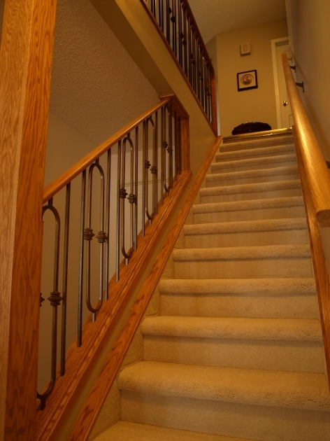 Basement Stairs Railing Basement Stair With Railing Design Ideas Images 23