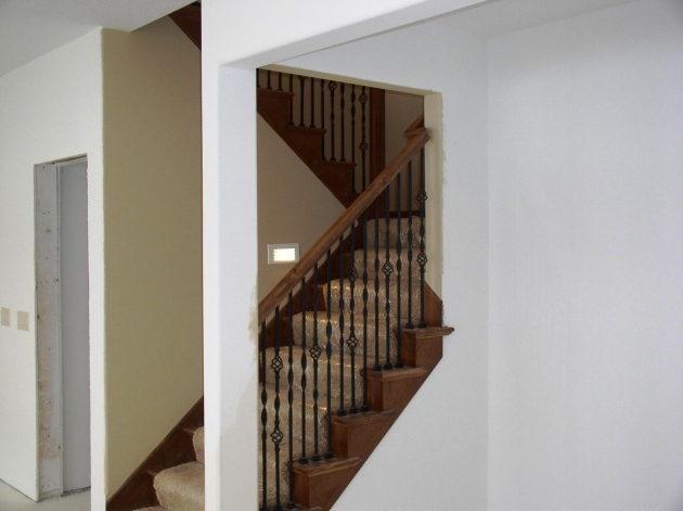 Basement Stairs Railing Basement Stairs Ideas Home Design And Decor Pic 03