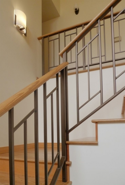 Metal Stair Railings Metal Entry Ralings On Pinterest Railings Iron Stair Railing Photo 58
