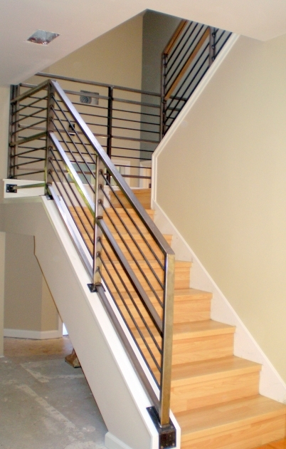 Metal Stair Railings Metal Stair Railing Ideas Home Stair Design Photo 14