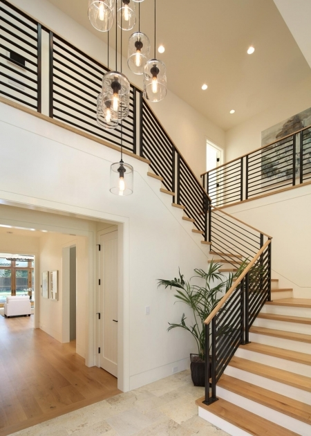 Metal Stair Railings Sullivan Design Studio Custom Contemporary Staircase Photo 76