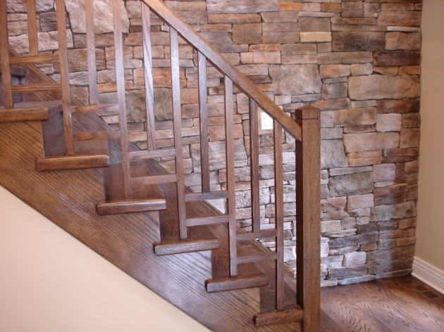Modern Wooden Handrail Stair Railings Modern Contemporary Design Interior Design Picture 05