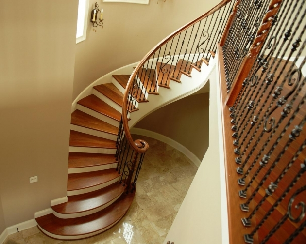 Curved Staircase Railing Interior Beautiful Wrought Iron Staircase Photos 63