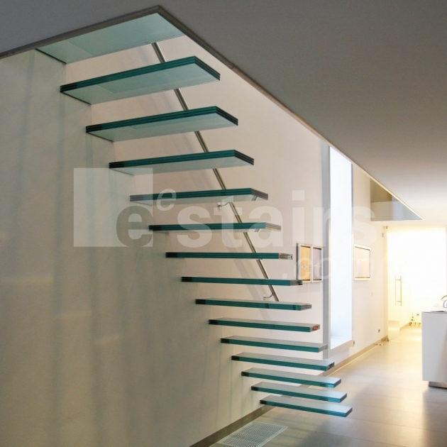 Floating Stair Kits Tread Stairs In Walnut Glass Stairs Photos 44