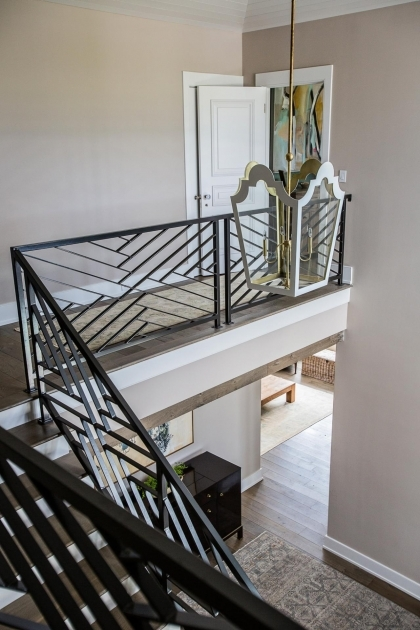 Modern Metal Stair Railings Cortney Bishop Design First Impression Photo 94