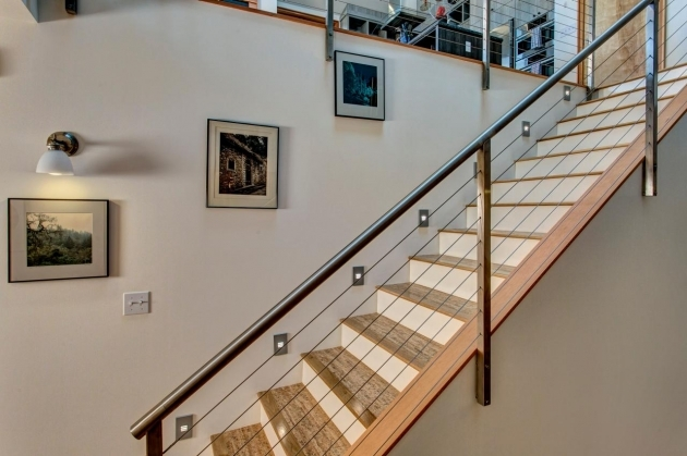 Modern Metal Stair Railings Jeff Pelletier  Ballard Locks Residence Photo 89