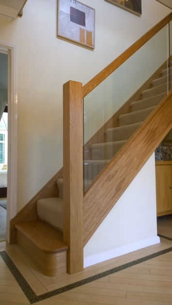 Oak Staircases With Glass Panels Best Stairs Design Ideas Images 81