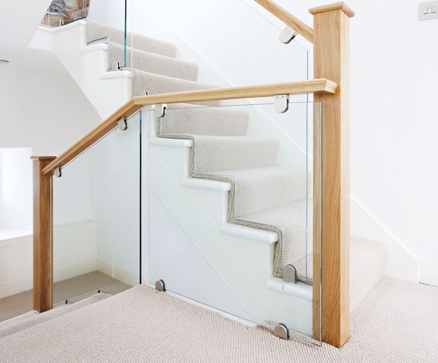 Oak Staircases With Glass Panels Neville Johnson Stonehaven Staircase Design Pics 23
