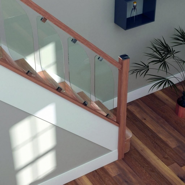 Oak Staircases With Glass Panels Scala Oak Chrome Image 99
