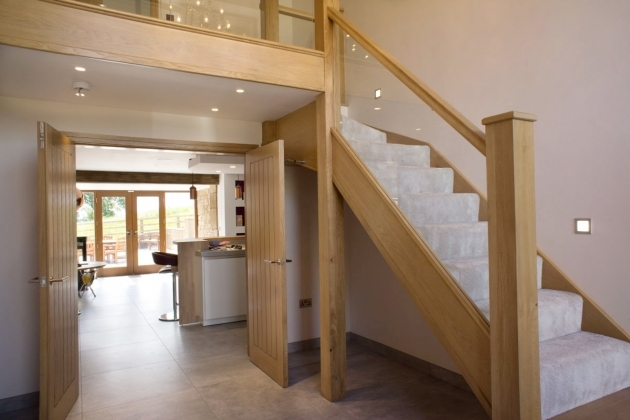 Oak Staircases With Glass Panels Style To Your Life Photo 32