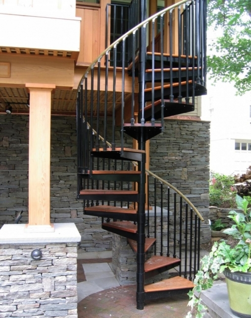 Spiral Staircases Exterior Design Home Outdoor Decoration Pictures 21