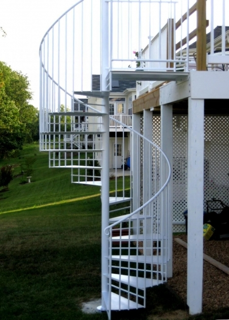 Spiral Staircases Exterior Outdoor Spiral Staircase Mvbjournal Photo 19