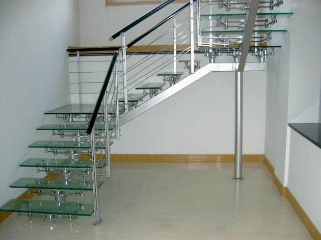 Stainless Steel Railing Designs And Glass Photo 96