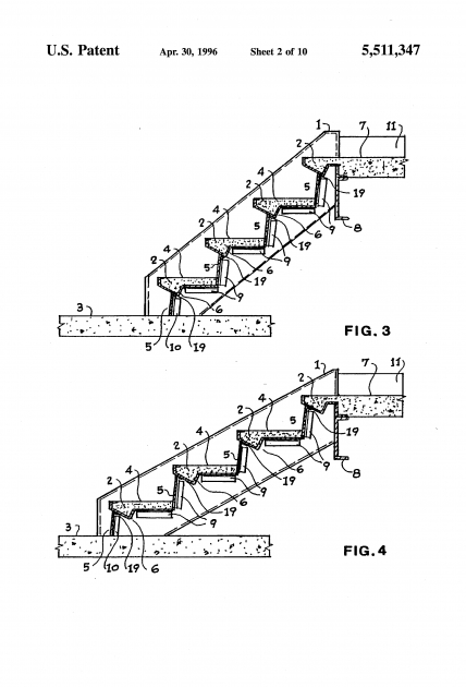 Steel Staircase Dimensions Patent Adjustable Sheet Metal Moulds Pictures 42