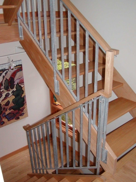 Wooden Staircase Railing Handrails And Stairs On Pinterest Pic 55