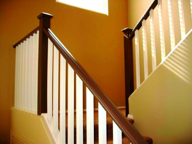 Wooden Staircase Railing Models Image 38