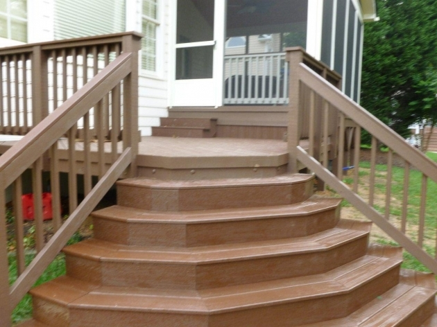 Building Stairs For A Deck How To Build Stairs How To Build Stairs Around A Corner Pics 10
