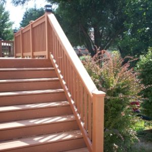 Building Stairs for a Deck