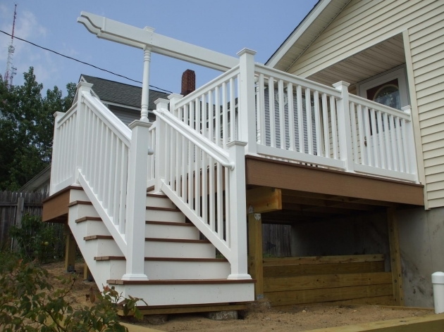 Building Stairs For A Deck Suggestions Deck Stairs Landing Grass Lisa Dirbeto Final Picture 20