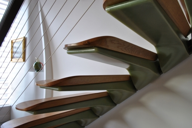 floating Stairs Brackets Pancu Residence Images 99