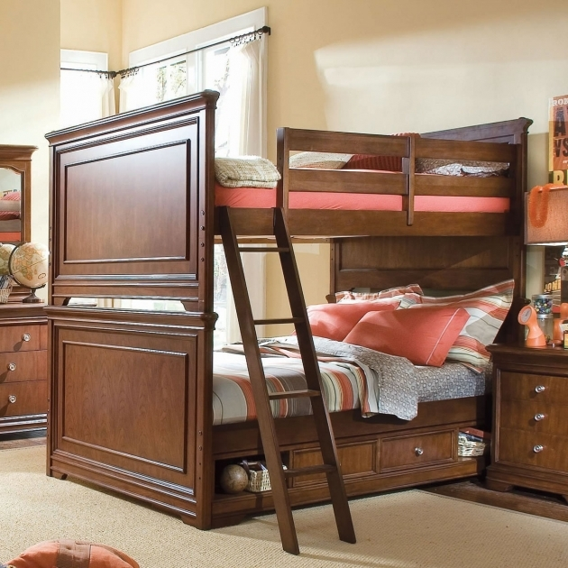 Full Over Full Bunk Beds With Stairs Best Bunk Beds Design Ideas Pic 49