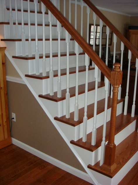Hardwood Stair Treads Best Home Stair Design Images 63