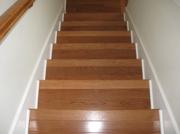 Hardwood Stair Treads Best Stair Design Photo 26