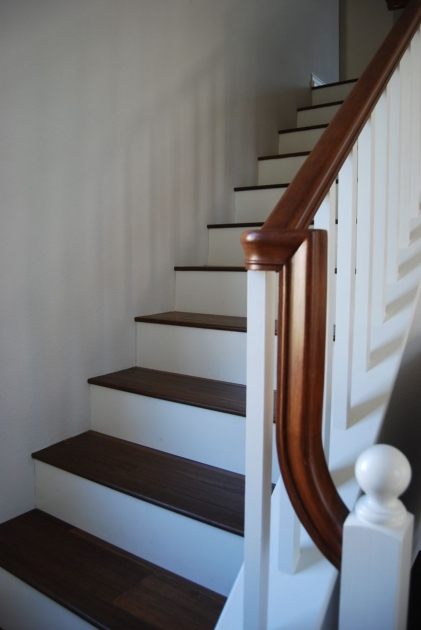 Hardwood Stair Treads Nice Stair Renovation Pictures 93
